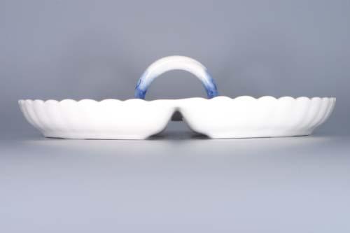 Zwiebelmuster Compartment Dish 4, Original Bohemia Porcelain from Dubi