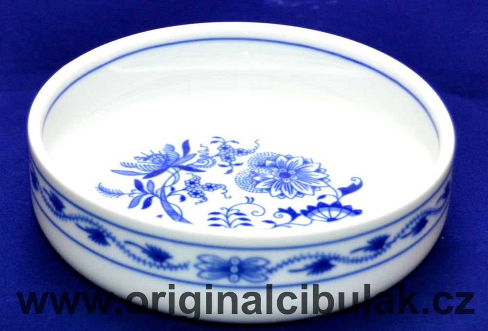 Zwiebelmuster Small Dish Mischa M 14cm, Original Bohemia Porcelain from Dubi