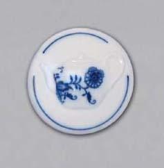 Zwiebelmuster Magnet Round (Teapot) 4.5cm, Original Bohemia Porcelain from Dubi