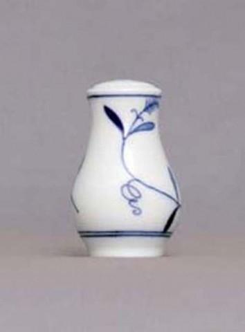 Eco Zwiebelmuster Salt Shaker, Bohemia Porcelain from Dubi