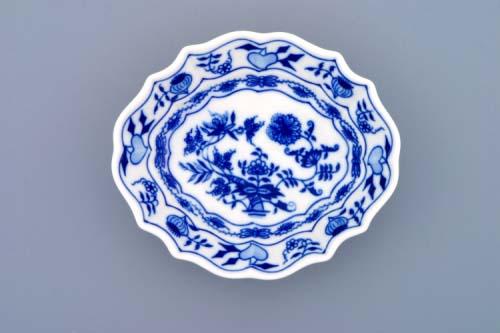 Zwiebelmuster Zuckerschale-oval 13cm Original Bohemia Porzellan aus Dubi