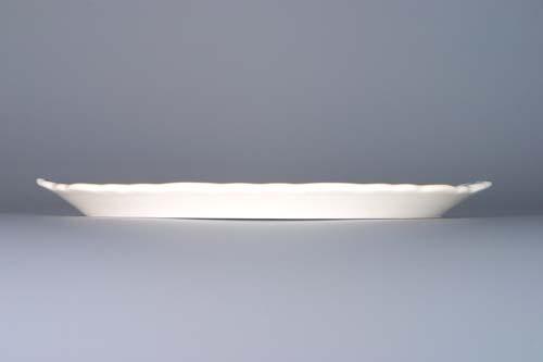 Zwiebelmuster Tablett für Karaffen 20,5cm Original Bohemia Porzellan aus Dubi