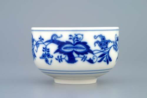 Zwiebelmuster Tasse ohne Henkel 0,125L Original Bohemia Porzellan aus Dubi