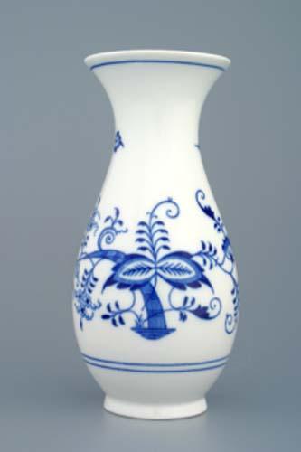 Zwiebelmuster Vase 1210/1 20cm Original Bohemia Porzellan aus Dubi