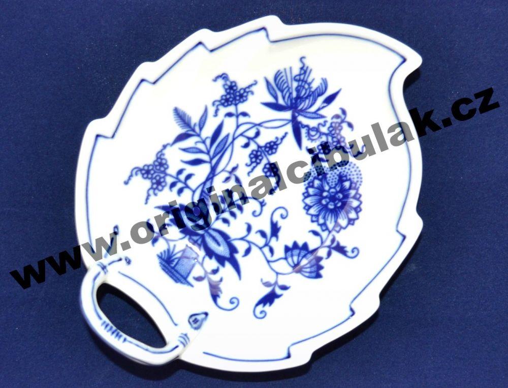 Zwiebelmuster Schüssel Blatt 15cm Original Bohemia Porzellan aus Dubi