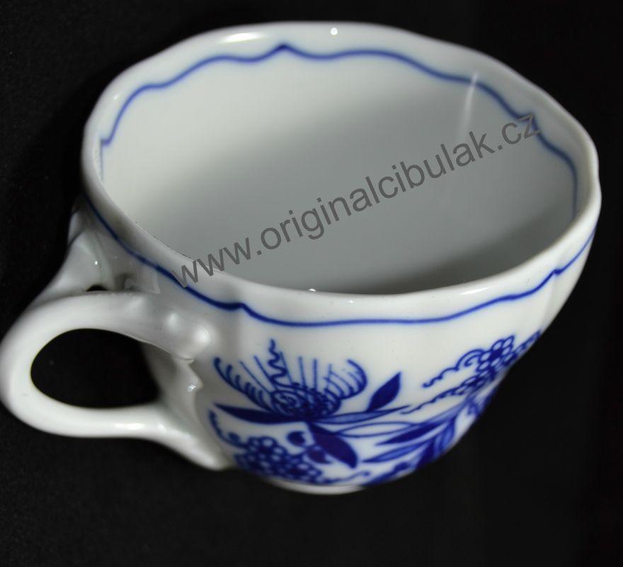 Zwiebelmuster Tasse A/1 0,12L Original Bohemia Porzellan aus Dubi