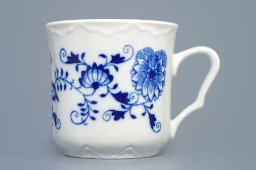 Zwiebelmuster Kaffee Becher 0,27L Original Bohemia Porzellan aus Dubi