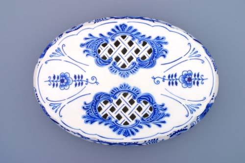 Zwiebelmuster Bonbonniere Original Bohemia Porzellan aus Dubi