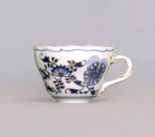 Zwiebelmuster Tasse hoch A/1 0,12L Bohemia Porzellan aus Dubi