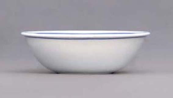 Eco Zwiebelmuster Backform oval 21,5cm Bohemia Porzellan aus Dubi
