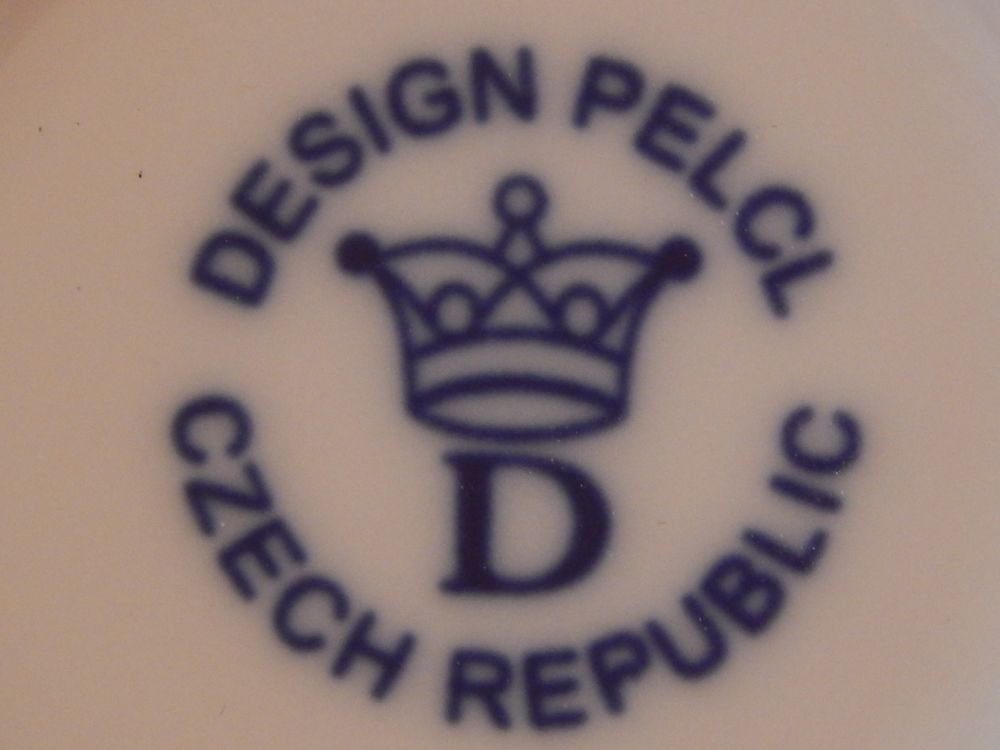 Zwiebelmuster Zuckerdose Bohemia Cobalt design prof. arch. Jiří Pelcl, Bohemia Porzellan aus Dubi