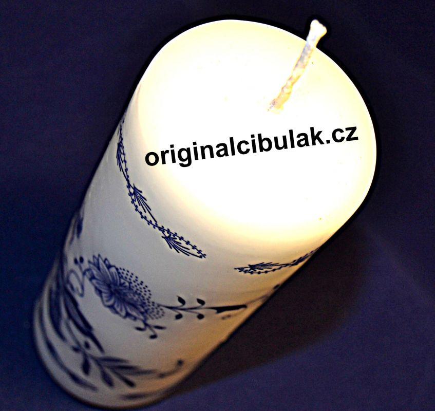 Zwiebelmuster Kerze starke 1 Stück