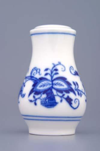 Zwiebelmuster Pfefferdose ohne Anschrift 7,5cm Original Bohemia Porzellan aus Dubi