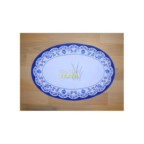 Zwiebelmuster Tischsets oval 32x46