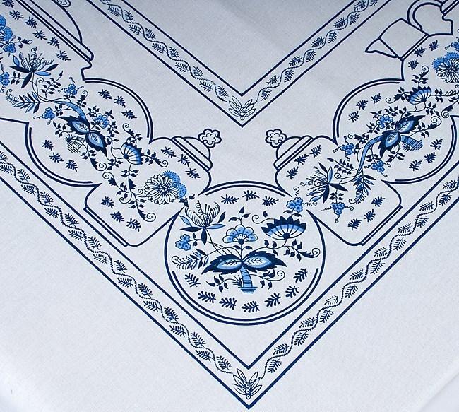 Zwiebelmuster Tischtuch 120x140