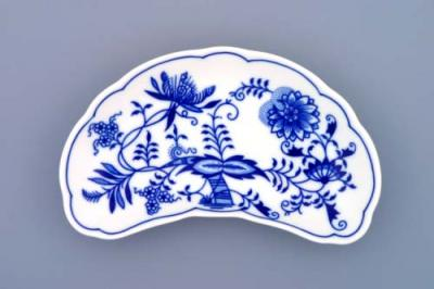 Zwiebelmuster Dish for Bones19 cm, Original Bohemia Porcelain from Dubi