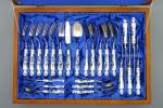 Zwiebelmuster Bestecke - Luxusset 24 St. Original Bohemia Porzellan aus Dubi