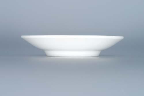 Zwiebelmuster Smooth Dish 10cm, Original Bohemia Porcelain from Dubi