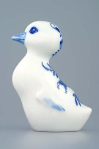 Zwiebelmuster Gosling 10cm, Original Bohemia Porcelain from Dubi
