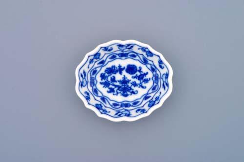 Zwiebelmuster Zuckerschale-oval 9cm Original Bohemia Porzellan aus Dubi
