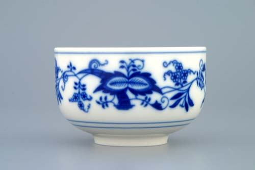 Zwiebelmuster Cup without Handles 0.125L, Original Bohemia Porcelain from Dubi