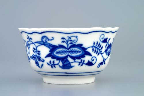 Zwiebelmuster Small Bowl, Original Bohemia Porcelain from Dubi