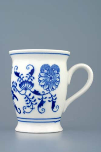 Zwiebelmuster Mug Malis 0.30L, Original Bohemia Porcelain from Dubi