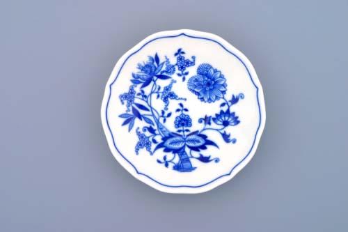 Zwiebelmuster Saucer ZA/1, Original Bohemia Porcelain from Dubi