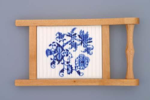 Zwiebelmuster Mini Wash Board 20cm, Original Bohemia Porcelain from Dubi