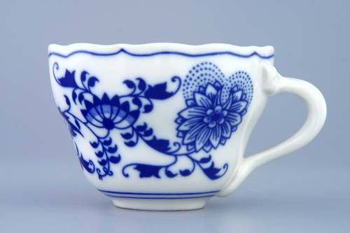 Zwiebelmuster Cup Tall A/2, Original Bohemia Porcelain from Dubi