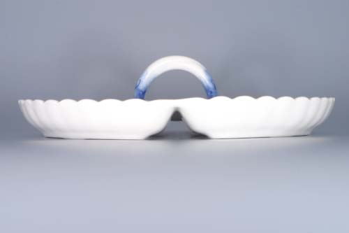 Zwiebelmuster Compartment Dish 4, Original Bohemia Porcelain from Dubi