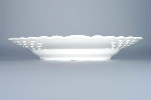 Zwiebelmuster Teller durchbrochen 27cm Original Bohemia Porzellan aus Dubi