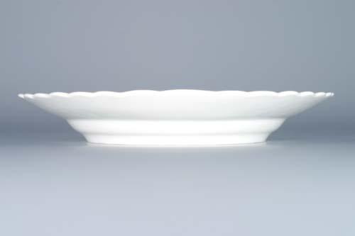 Zwiebelmuster Plate Embossed 27cm, Original Bohemia Porcelain from Dubi