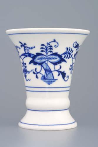 Zwiebelmuster Vase 1213 12cm, Original Bohemia Porcelain from Dubi