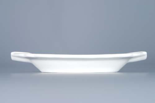 Zwiebelmuster Oval Ashtay 16cm, Original Bohemia Porcelain from Dubi