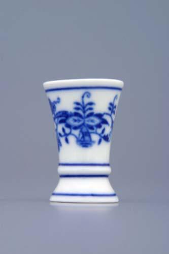 Zwiebelmuster Vase 1213 mini 4,5cm Original Bohemia Porzellan aus Dubi