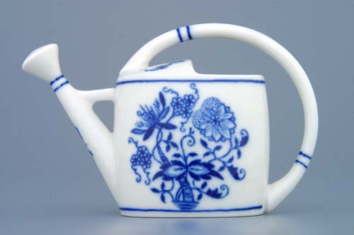 Zwiebelmuster Mini Watering Can 8.5cm, Original Bohemia Porcelain from Dubi