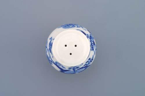 Zwiebelmuster Pepper Shaker 7.5cm, Original Bohemia Porcelain from Dubi