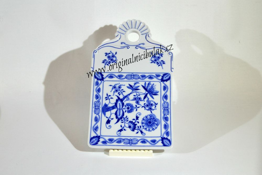 Zwiebelmuster Bread Tray 27.5cm, Original Bohemia Porcelain from Dubi