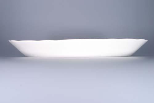 Zwiebelmuster Ovale Schüssel 43cm Original Bohemia Porzellan aus Dubi