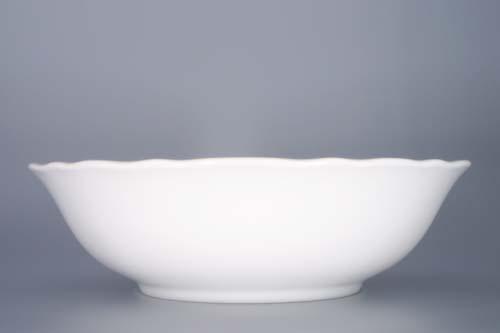 Zwiebelmuster Deep Fruit Bowl 21cm, Original Bohemia Porcelain from Dubi