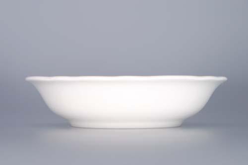 Zwiebelmuster Fruit Bowl 13cm, Original Bohemia Porcelain from Dubi