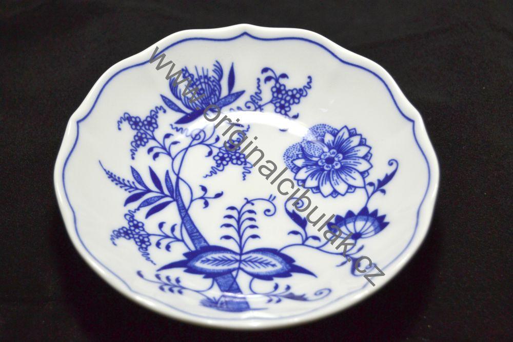 Zwiebelmuster Saucer B 14cm, Original Bohemia Porcelain from Dubi