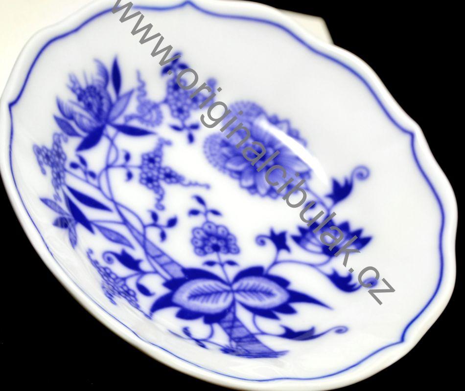 Zwiebelmuster Saucer A/1 13cm, Original Bohemia Porcelain from Dubi