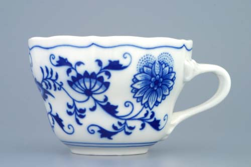 Zwiebelmuster Cup Tall C 0.25L, Original Bohemia Porcelain from Dubi