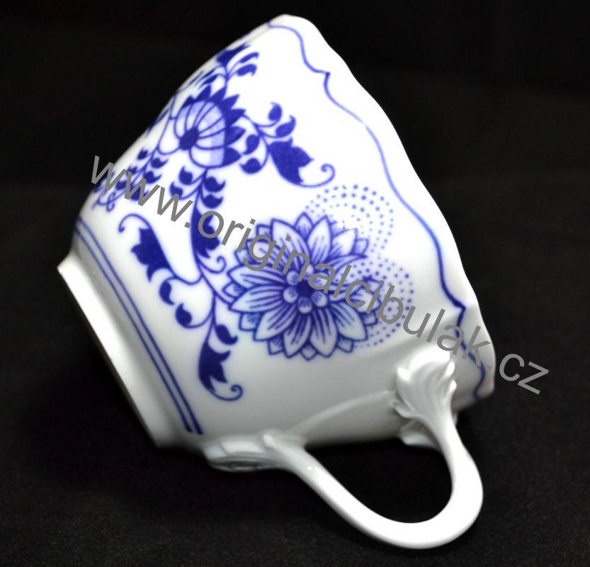 Zwiebelmuster Cup B 0.20L, Original Bohemia Porcelain from Dubi