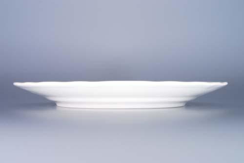 Zwiebelmuster Flat Plate 26cm, Original Bohemia Porcelain from Dubi