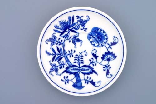 Zwiebelmuster Saucer Ben M 15.3cm, Original Bohemia Porcelain from Dubi