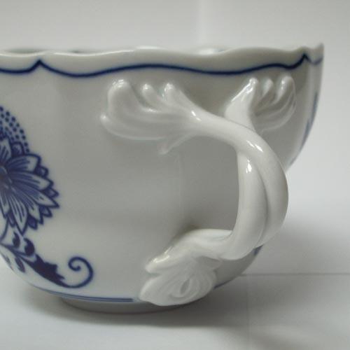Zwiebelmuster Cup D 0.35L, Original Bohemia Porcelain from Dubi