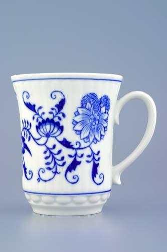 Zwiebelmuster Mug Derby 0.25L, Original Bohemia Porcelain from Dubi